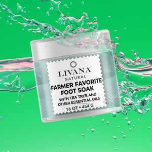Farmers Favorite Foot Soak - 16 OZ - Livananatural