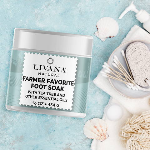 Image of Farmers Favorite Foot Soak - 16 OZ - Livananatural