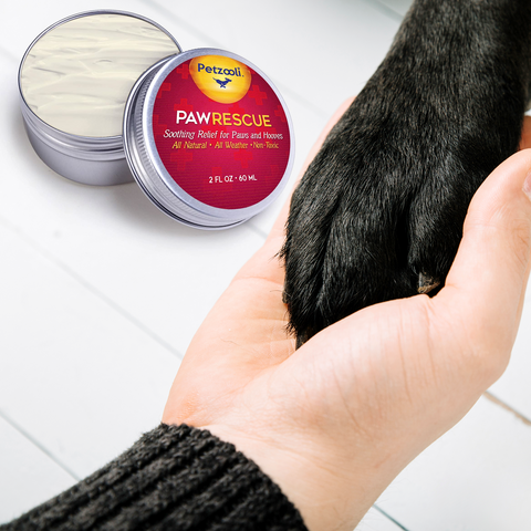 Image of Paw Rescue w/ Manuka by Petzooli®, Protective Balm for Paws and Hooves, 2oz - Livananatural