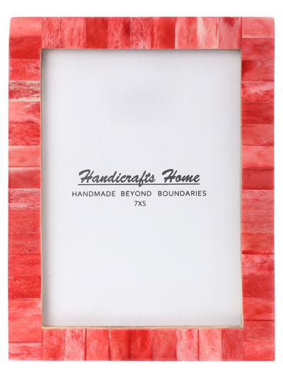 5x7 Photo Frames Handmade Chic - Red