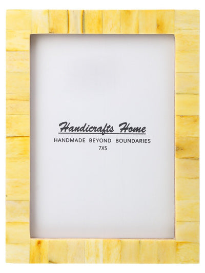 5x7 Photo Frames Handmade Chic - Yellow