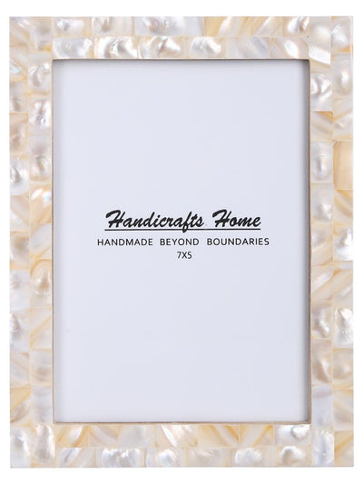 5x7 Photo Frames Handmade Chic - Pearl