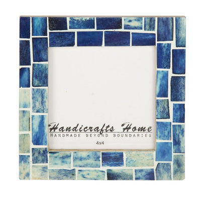 Photo Frame Indigo Handmade - 4x4 Inch