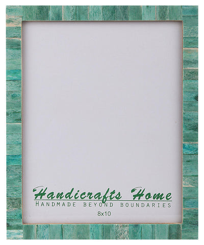 8x10 Picture Frames Chic Handmade Photo Frame - Green