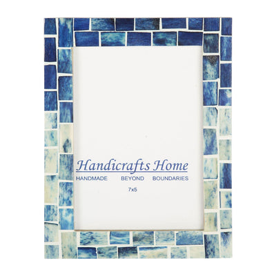 Photo Frame Indigo Handmade - 5x7 Inch