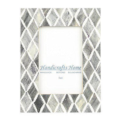 4x6 Photo Frame Slate Mosaic - Diamond