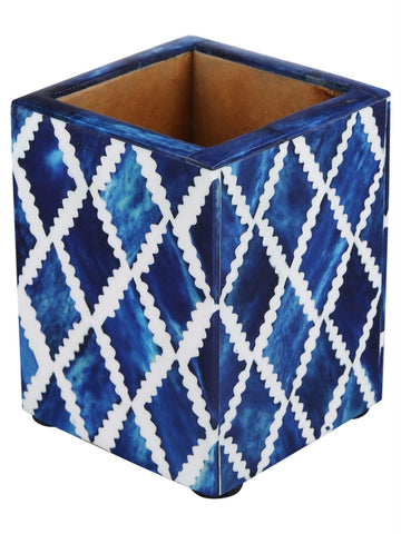 Pen Holder Moroccan Art Inspired Caddy Pencil Cup - Diamond
