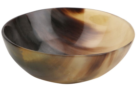 Ox Horn Shave Bowl Lathering Up Shaving Soap Cup Bowl - 5''