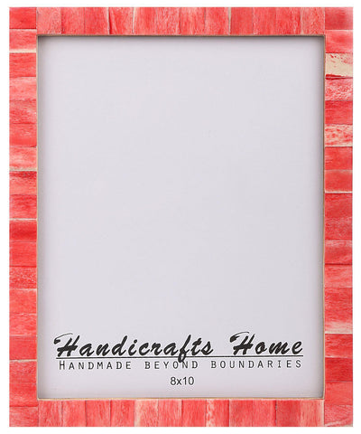 8x10 Picture Frames Chic Handmade Photo Frame - Red