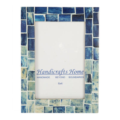 Photo Frame Indigo Handmade - 4x6 Inch