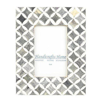 4x6 Photo Frame Slate Mosaic - Star