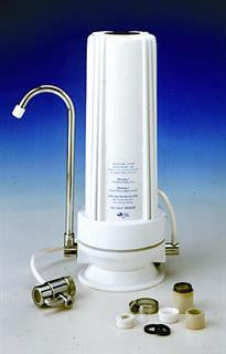Bench Top Water filter housing