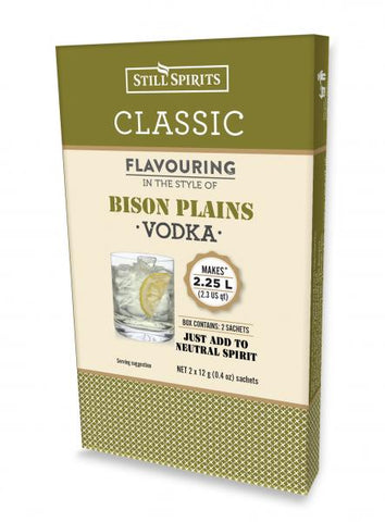 Still Spirits Classic Bison Plains Vodka