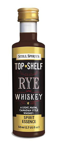 Top Shelf Rye  Whiskey essence