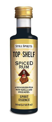 Top shelf Spiced Rum essence