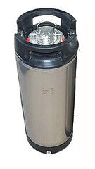 19 litre AEB Stainless steel keg (made in Italy)