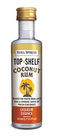 Top Shelf Coconut Rum liqueur essence