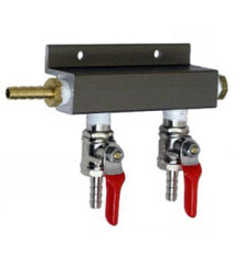 2 way C02 distributor