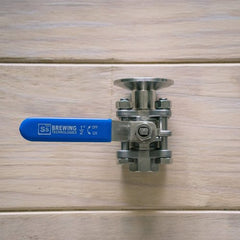 "Ball Valve 1/2"" ID 1.5"" TC to 1/2"" Female NPT"