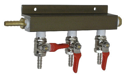 3 way C02 distributor