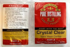 Pure Distilling Crystal Clear