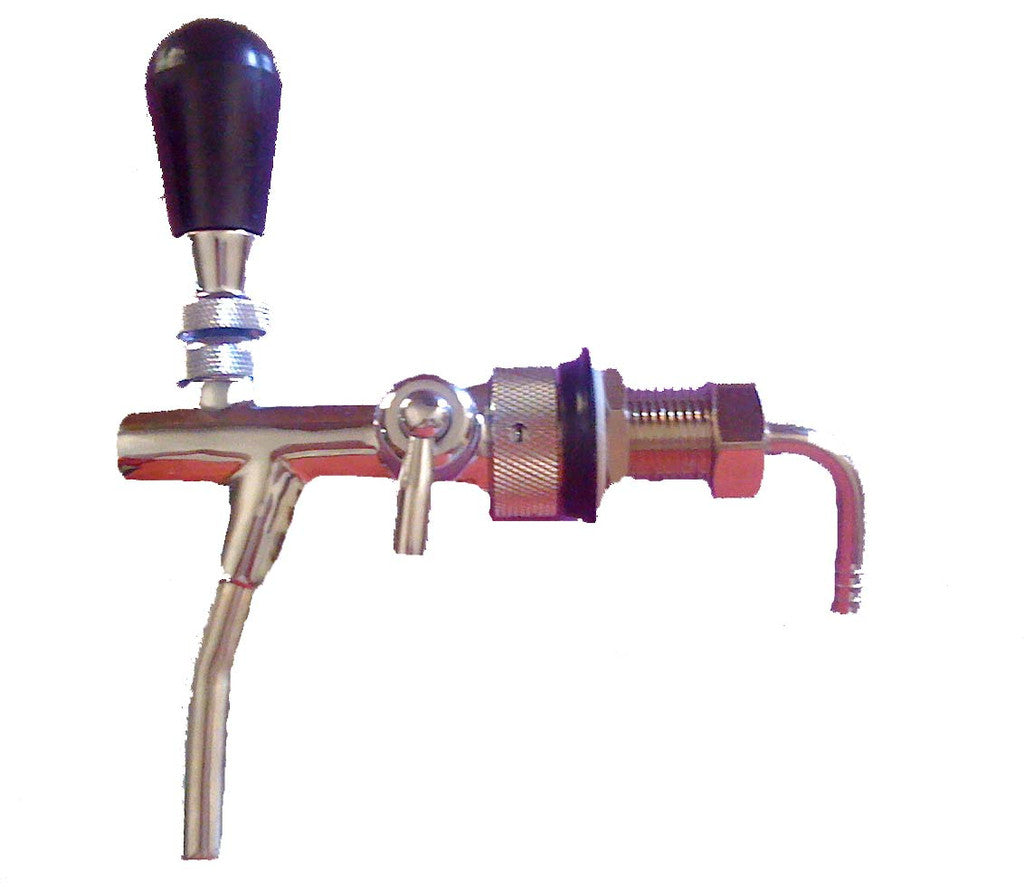 ibrew - Flow Control beer Faucet with shank