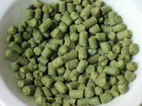 Topaz  hop pellets from