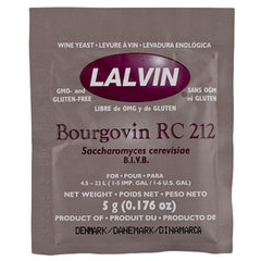 Lalvin Bourgovin RC 212 (5gm) from $3.50