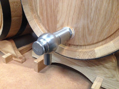 Barrel tap upgrade (stainless steel)