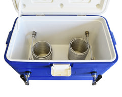 Jockey Box Beer Cooler Draft box (2 taps)