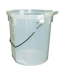 20 litre measuring pail with pouring lip