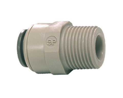 John Guest Straight adapter BSPT (liquid or gas) 6 sizes  available