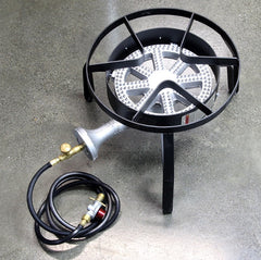 High Pressure LPG/Propane Burner, Stand and regulator