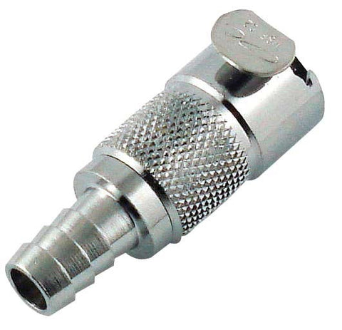 LC series Coupler, female with shutoff