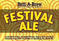BettABrew Festival Mead Ale