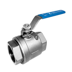 "Ball Valve 2 piece, 1/2"" full bore"