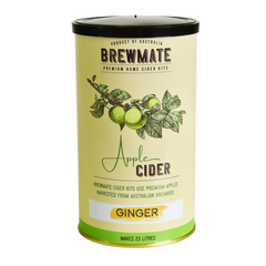 Brewmate Ginger and Apple Cider kit