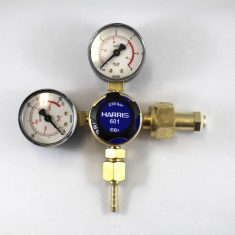 Harris C02 Regulator 5 year warranty