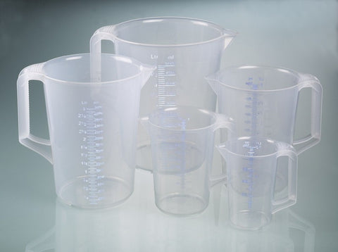 Measuring jugs 5 piece set