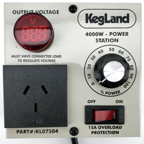 Power Station Controller 4000W