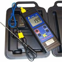 K Type Thermometer with 2 probes (interchangeable probes)