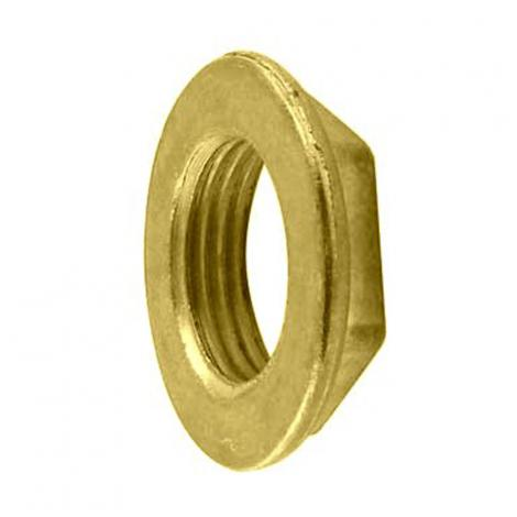 Locking nut for beer shanks