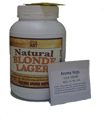 Natural Blonde Lager with Cascade hops