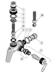 Perlick Service Kit for flow control faucets