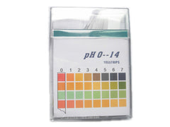 Universal pH 0-14 indicator strips (polypropelene)