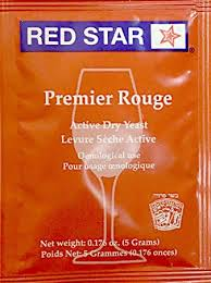 Red Star Premier Rouge winemaking yeast