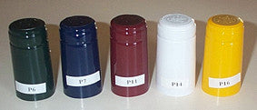 Heat shrink capsules (PVC)