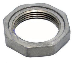 Brass or stainless steel  locking nut (grooved)