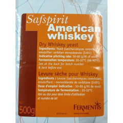 Safspirit American whiskey/bourbon yeast (pack size from 100gm)