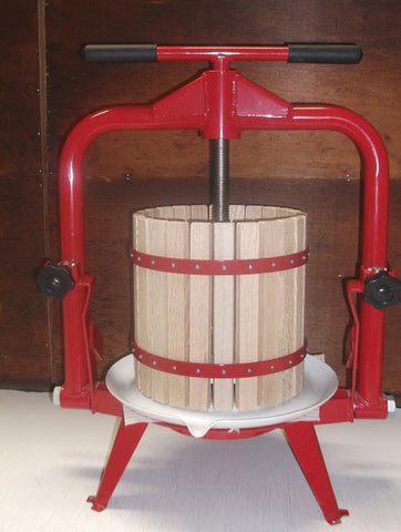 Grape/fruit press T Bar , 6 & 12 litre